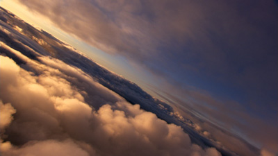Clip #CF402 Camera: Sony F900R Date: April, 2007 Location: Somewhere over Southwestern Oregon