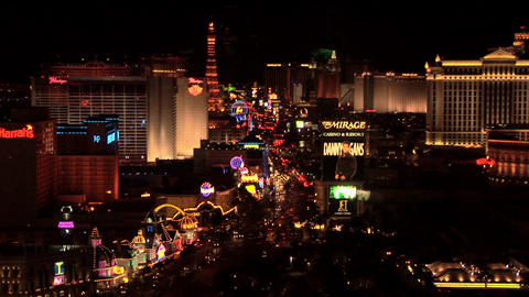 RC-FH097-001 -  Las Vegas Boulevard at night