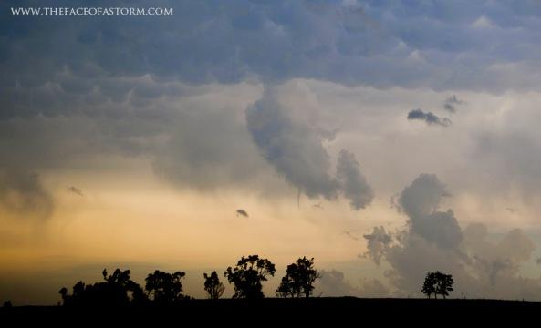 Funnel Cloud Photo by Jennifer Brindley Ubl.