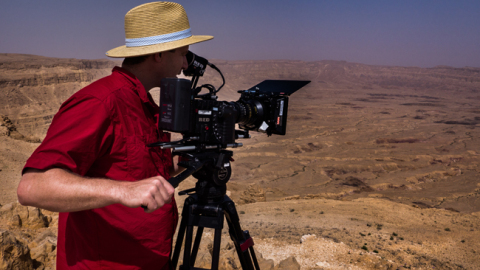 Amos Rafaeli on location