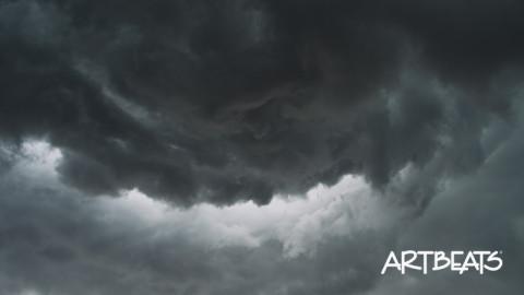 D001-C043B: Time-lapse supercell storm cloud