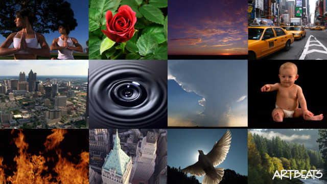 Stock Footage Collage